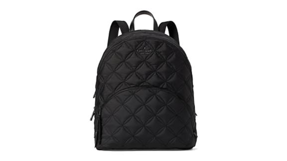 Karissa Nylon Quilted Large Backpack