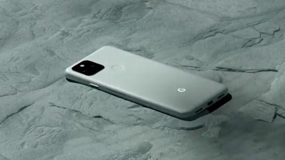 Google Pixel 5 phone.