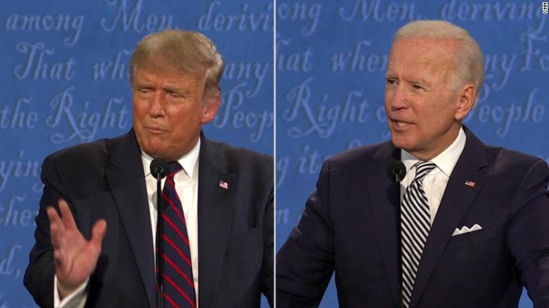Biden Uses Inshallah In Response To Trump During Debate Lighting Up Twitter Cnnpolitics