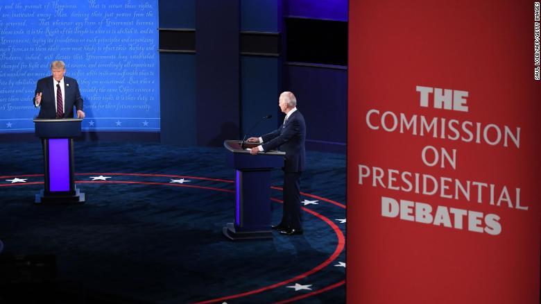 There will be more space between Pence and Harris at next week's debate