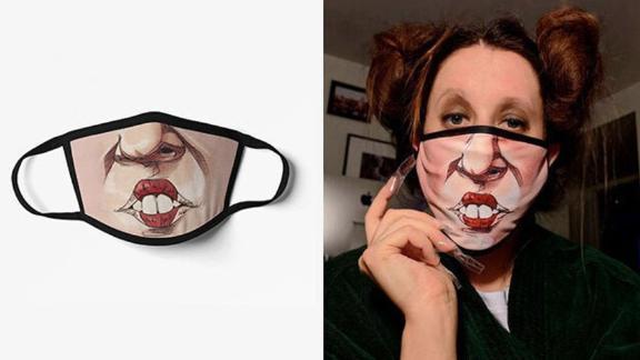 CassysTopShop Hocus Pocus Face Mask