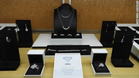 De Beers' Forevermark diamond jewelry brand.