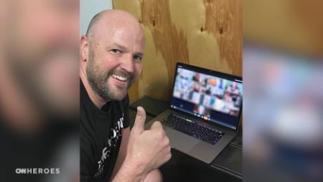 Virtual fitness classes allow this community battling addiction to gain strength during lockdown