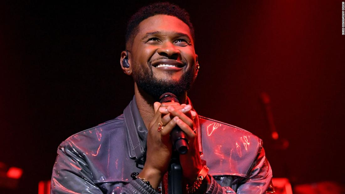 Usher is a new dad to a baby girl