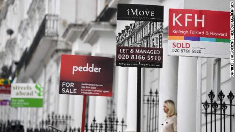 Why record UK house prices could be falling again soon