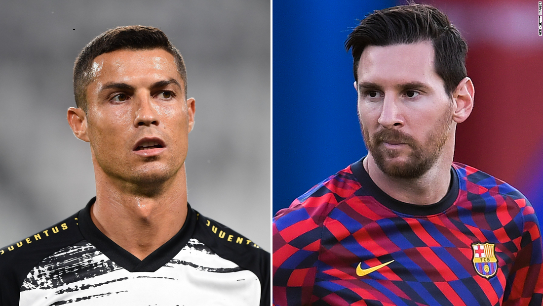 Rivals Ronaldo and Messi will face off in Champions League group