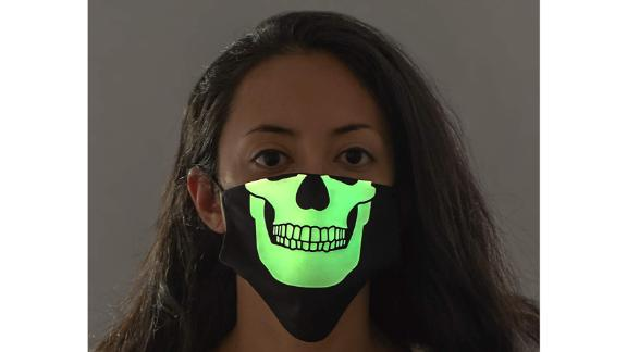 Costume Agent Glow-in-the-Dark Skeleton Mask