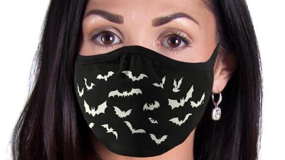 CoverYourFaceMasks Bats Glow Face Mask