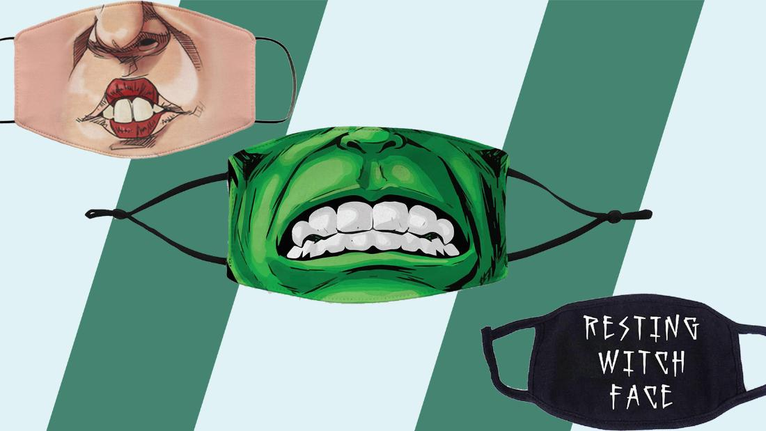 Halloween face masks that keep you safe — and still spooky