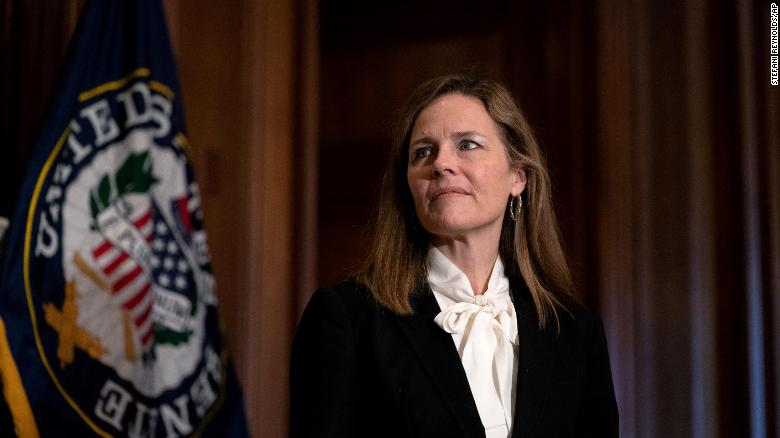 Amy Coney Barrett failed to disclose talks on Roe v. Wade hosted by anti-abortion groups on Senate paperwork