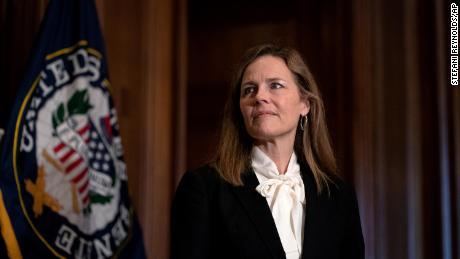 GOP and Democrats draw battle lines in Barrett hearing