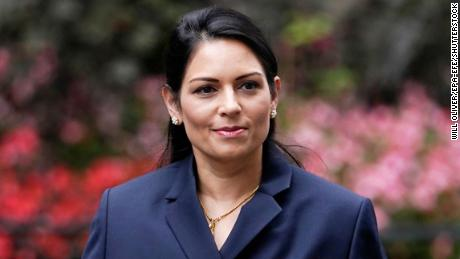 Priti Patel in London on September 8. The politician has courted controversy over her stance on immigration.