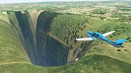 Big scary chasm opens up in Microsoft Flight Simulator reboot