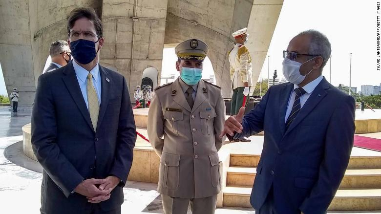 US Secretary of Defense makes rare visit to Algeria