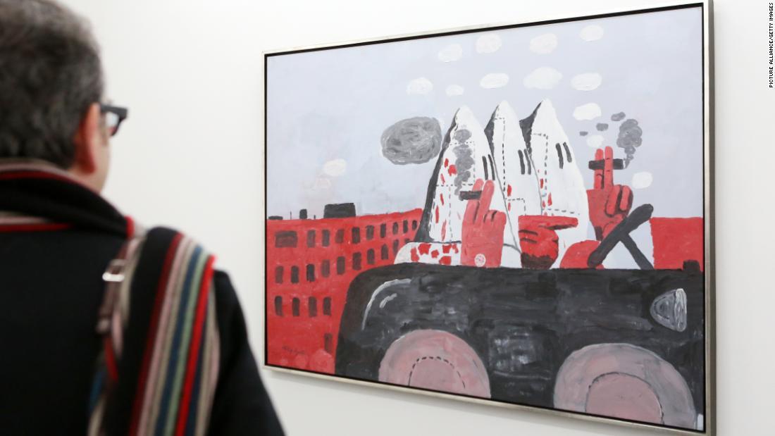 Artists slam decision to postpone exhibition of Philip Guston's KKK paintings