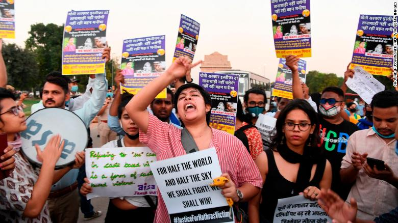 A second Dalit woman has died after alleged gang rape, sparking outrage and protests across India