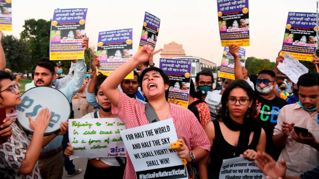 A second Dalit woman has died after alleged gang rape, sparking outrage and protests