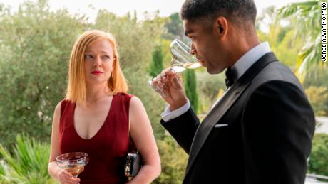 "In ""Soulmates,"" Sarah Snook (left) and Kingsley Ben-Adir play characters Nikki and Franklin, whose marriage struggles."