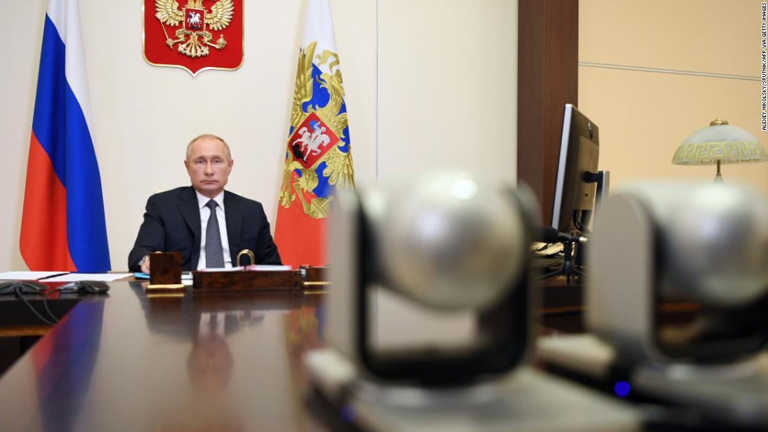 Putin still hasn't taken Russia's coronavirus vaccine
