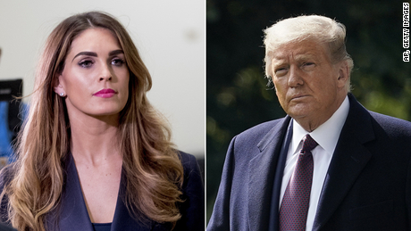 Trump went to fundraising events even after close aide Hope Hicks tested positive