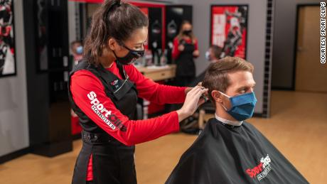 Sport Clips' CEO Edward Logan said salons have proven they can operate safely.