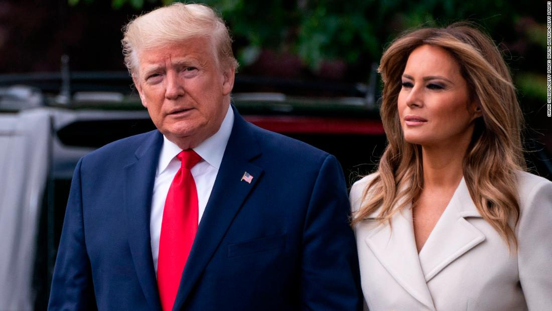 President Donald Trump And First Lady Melania Trump Test Positive For Covid 19 Cnnpolitics