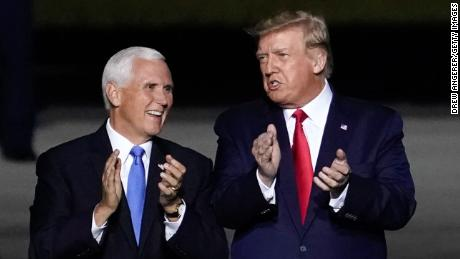 Mike Pence is in a weird spot