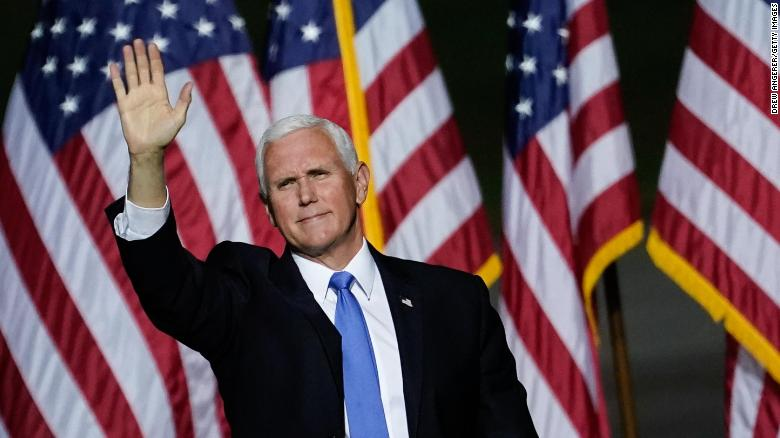 Pence tests negative and continues campaigning despite Trump diagnosis