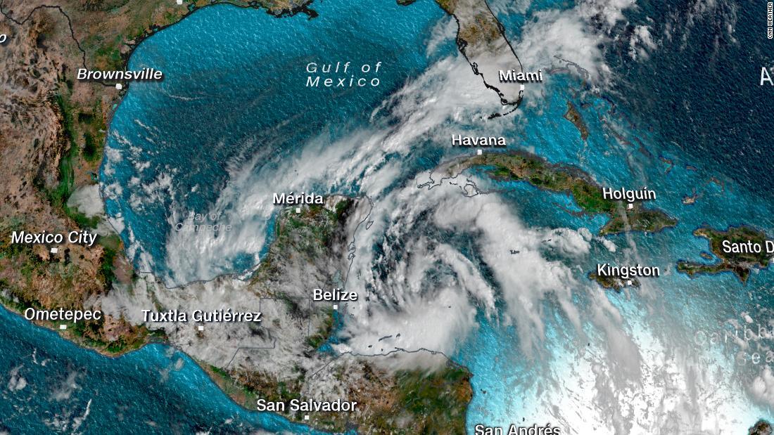 Tropical Depression Twenty-Five forms in the Caribbean Sea – CNN
