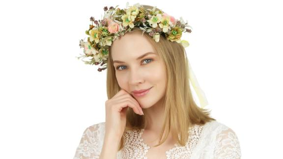 Folora Adjustable Flower Headband