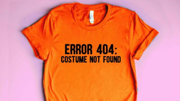 DifferentBunch Error 404 Costume Not Found T-shirt