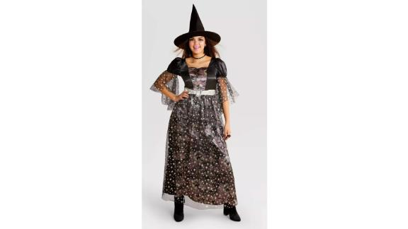 Adult Halloween Costume Dress with Hat