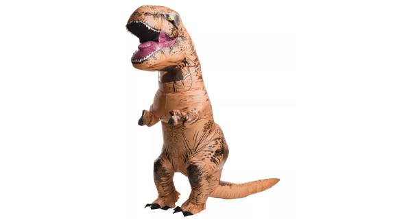 Adult Inflatable Jurassic World T-Rex Halloween Costume