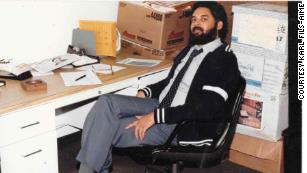Fils-Aimé in his office at Miami-Dade College.