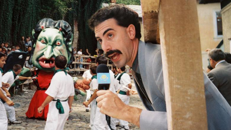 Reassessing the racial stereotyping in 'Borat'
