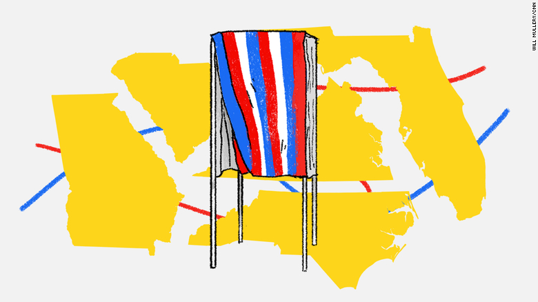 Why the Southeast is up for grabs in the 2020 election