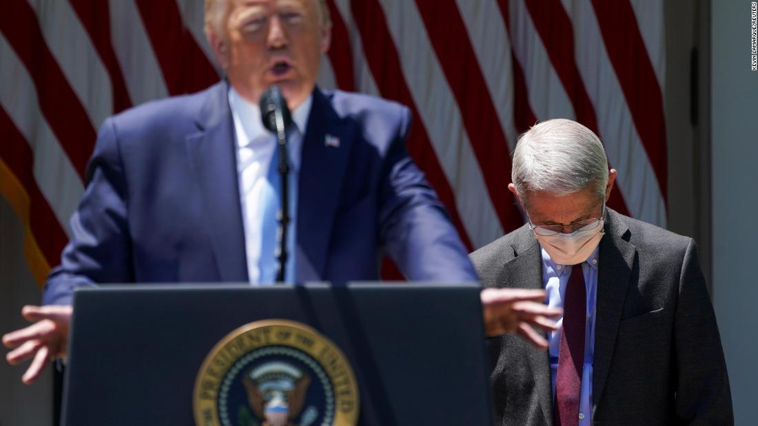 Listen to leaked call of Trump bashing Dr. Fauci to his staff