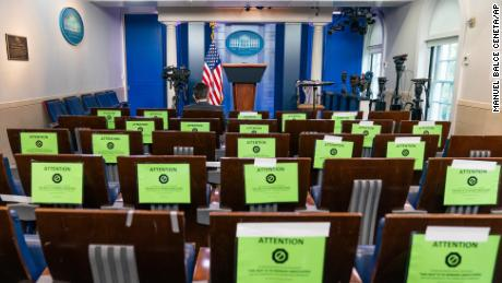 Journalists who work at the White House are testing positive for Covid-19