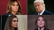 Here are the Cabinet members and others around Trump who have been tested