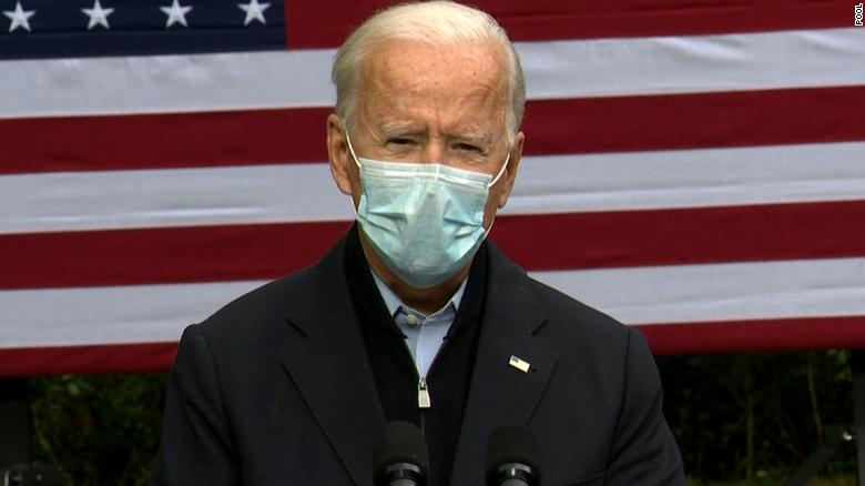 Jason Miller claims Biden's mask is a 'prop' as President hospitalized with  Covid-19 - CNNPolitics