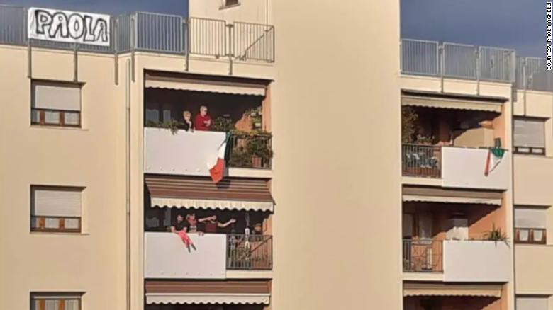 An Italian couple who met on their balconies during quarantine are now engaged in the same city where 'Romeo and Juliet' was set