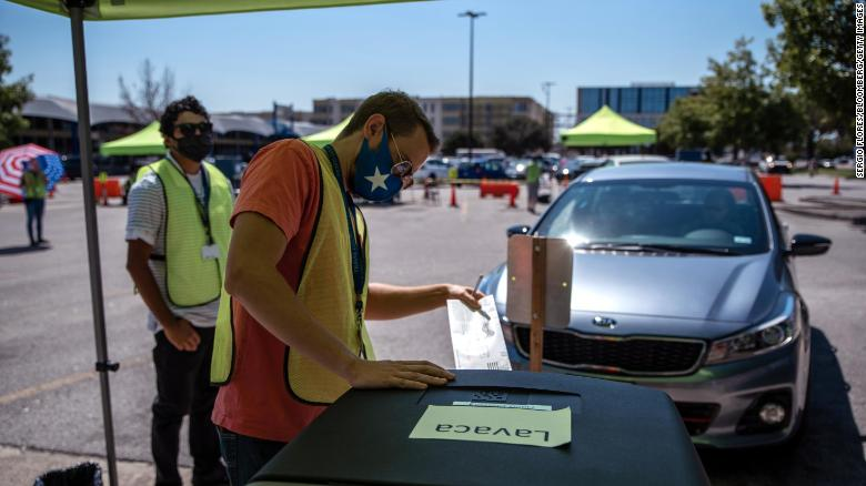 Two Texas lawsuits challenge governor's restrictions on ballot drop-off locations