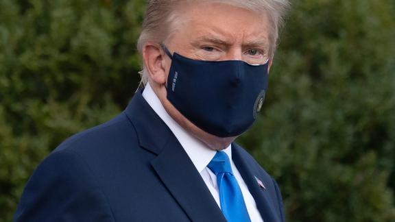 Image for Trump 'doing very well' and has been 'fever-free' for 24 hours, his doctor says