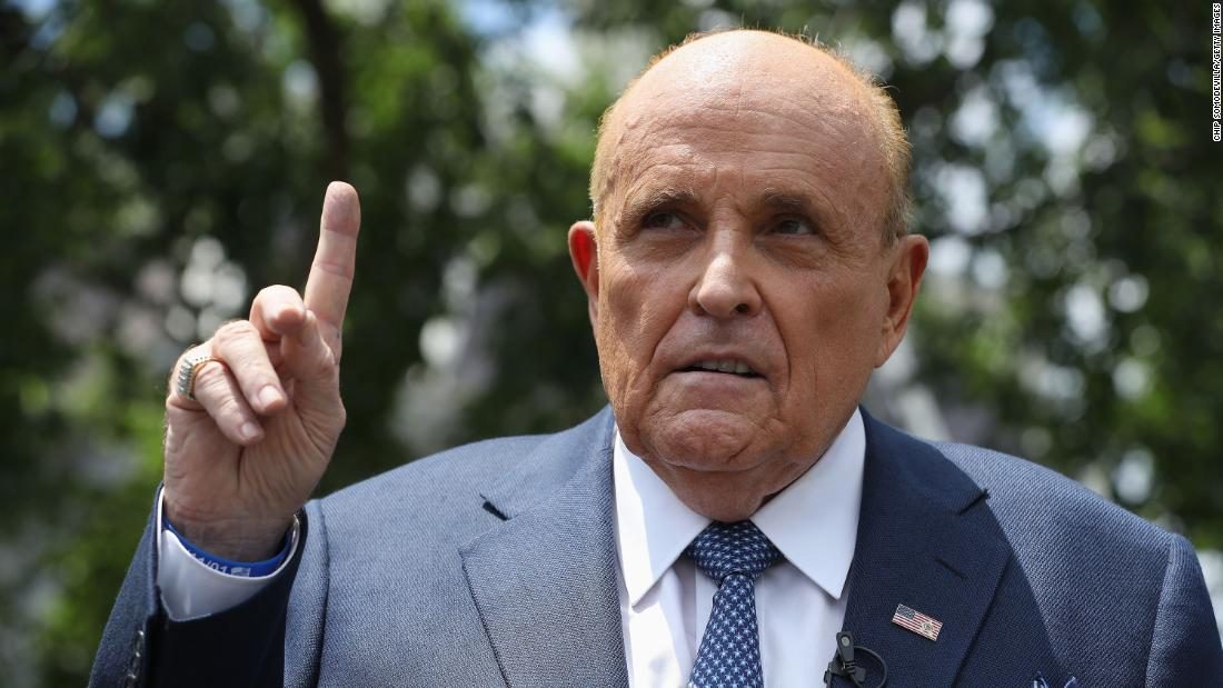 Rudy Giuliani's conspiracy theories could be dangerous to democracy, experts say