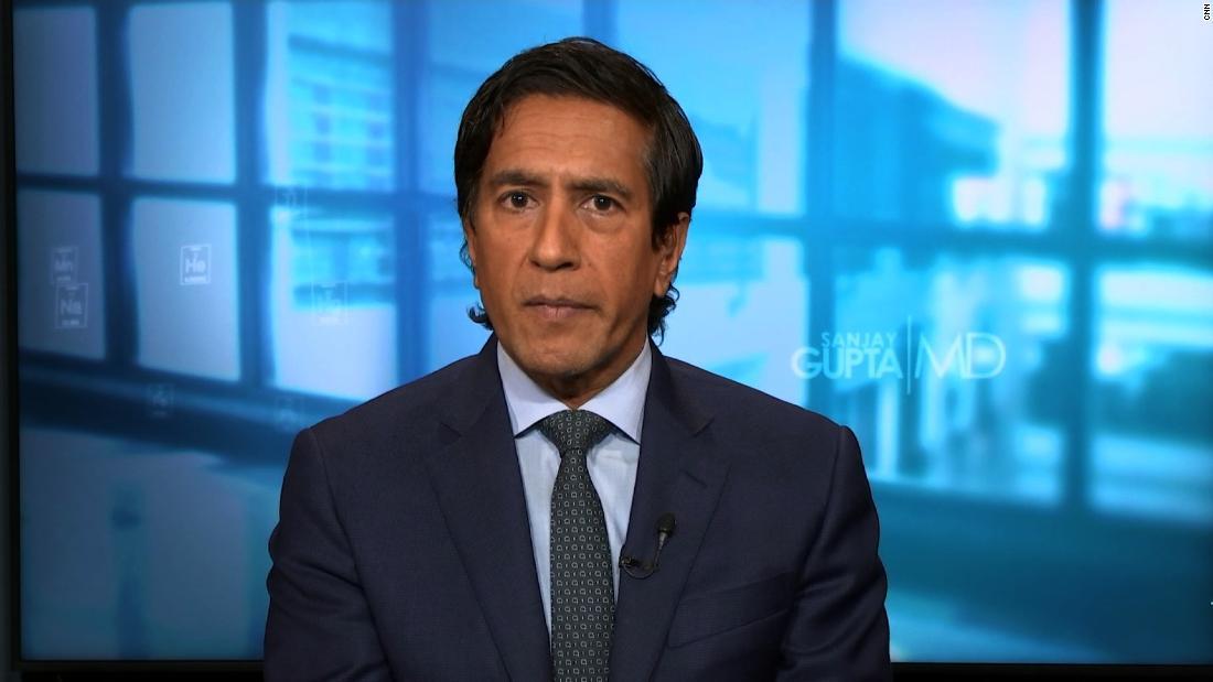 Dr. Sanjay Gupta: Trump shouldn't be discharged tomorrow