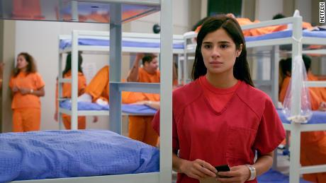 "In the final season of ""Orange is the New Black,"" Maritza Ramos (played by Diane Guerrero) ends up in immigrant detention."