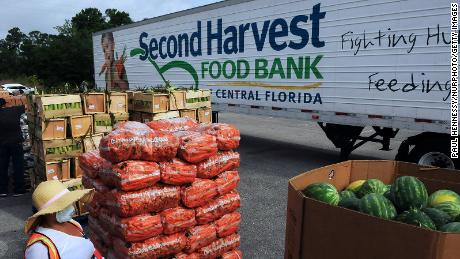 Second Harvest Food Bank of Central Florida has doubled its daily distribution during pandemic relief efforts.