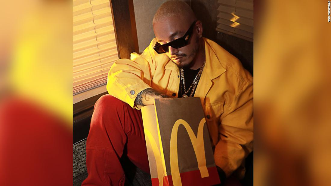 McDonald's teams with singer J Balvin for its newest celebrity meal – CNN