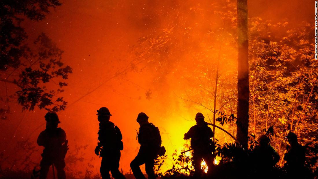 California wildfires have burned more than 4 million acres – CNN