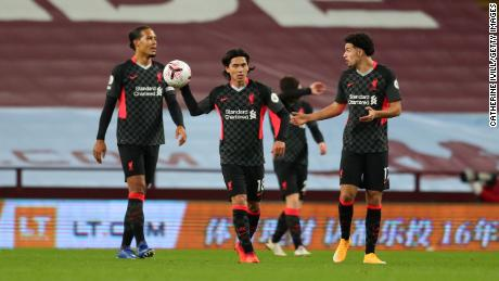 Liverpool Setting Records No Team Wants After Humiliating 7 2 Defeat By Aston Villa Cnn